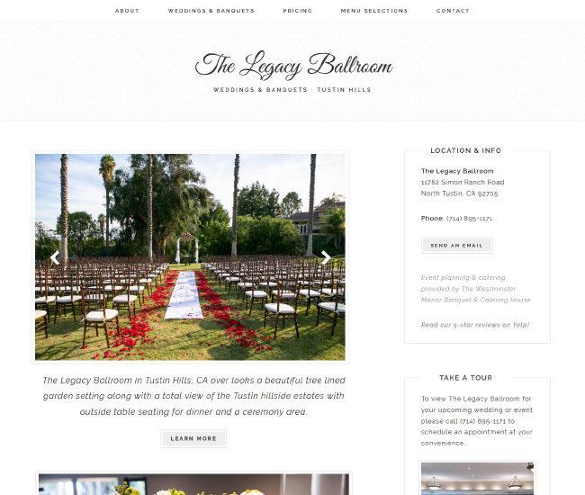 The Legacy Ballroom