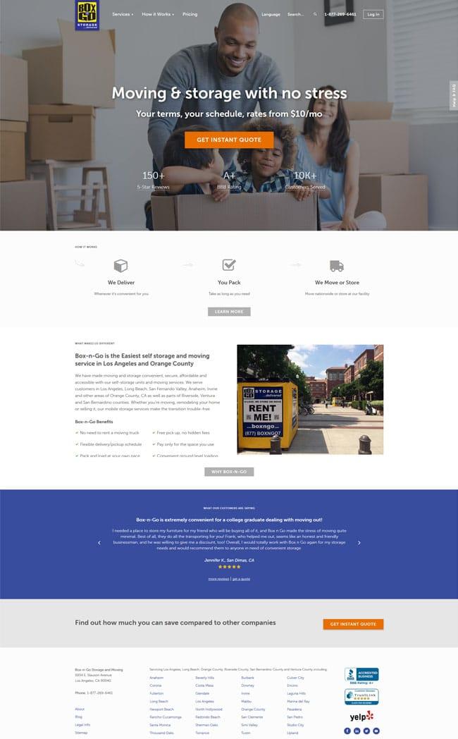 Box-n-Go Moving & Storage